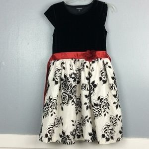 George Girls Party Holiday Dress Sz 12